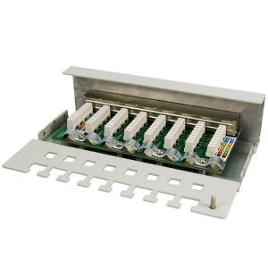 LOGILINK 8 PORT CAT6 PATCH PANEL GESCHIRMT Bild 4