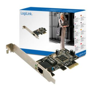 LOGILINK GIGABIT ETHERNET PCI EXPRESS KARTE