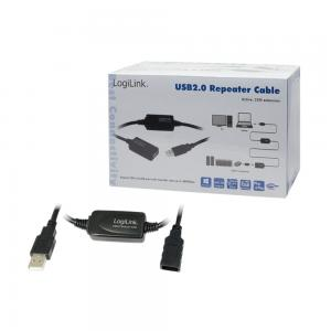LOGILINK AKTIVES USB 2.0 REPEATER KABEL 25,0 m