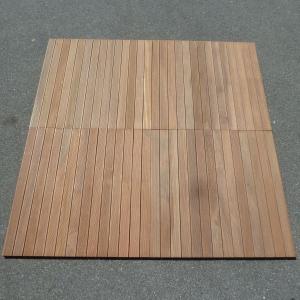 1 STÜCK = NUR ABHOLUNG - MAGNUM HOLZFLIESE BANGKIRAI 100 x 100 cm Bild 3