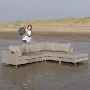 EXOTAN® CASABLANCA LOUNGE LINKS - TAUPE Bild 2