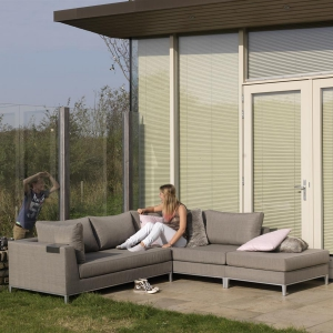 EXOTAN® CASABLANCA LOUNGE LINKS - TAUPE Bild 5