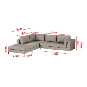 EXOTAN® CASABLANCA LOUNGE LINKS - TAUPE Bild 10