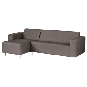 TRINITI® TOM LOUNGE SOFA CHAISELONGUE (LINKS) - METEOR BRAUN