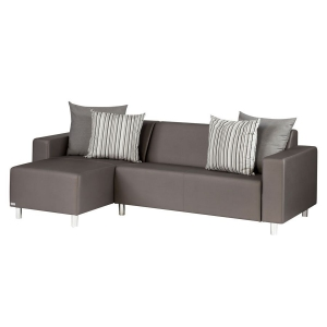 TRINITI® TOM LOUNGE SOFA CHAISELONGUE (LINKS) - METEOR BRAUN Bild 2