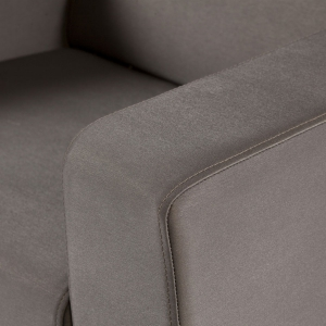TRINITI® TOM LOUNGE SOFA CHAISELONGUE (LINKS) - METEOR BRAUN Bild 7