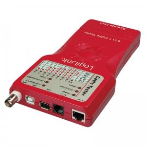 LOGILINK 5 IN 1 NETZWERK- UND KABELTESTER RJ-11 RJ45 LAN USB BNC Bild 4