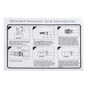 SET: LOGILINK KEYSTONE UNTERPUTZDOSE REINWEISS + 1 MODUL F-BUCHSE + 1 MODUL RJ45 CAT6 BUCHSE Bild 11