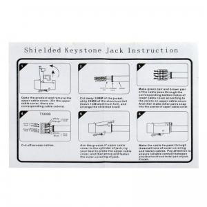 SET: LOGILINK KEYSTONE UNTERPUTZDOSE REINWEISS + 2 MODULE RJ45 CAT6 BUCHSE Bild 8