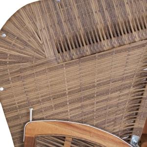 STRANDKORB DEVRIES TRENDY PURE GREENLINE 140 XL - DESSIN 700, WALNUT FSC-ZERTIFIZIERT Bild 9
