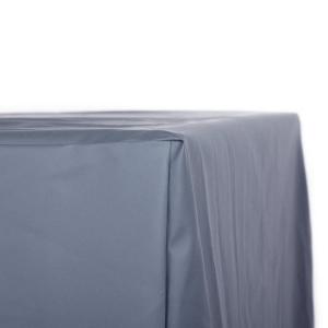 VivaGardea® PREMIUM HAUBE MIT ABHANG FÜR TISCH 180 x 95 CM - GRAU Bild 4