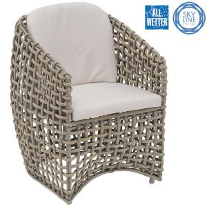 SKYLINE DESIGN® DYNASTY STUHL DINING ARMCHAIR