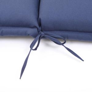 AU13: AUFLAGE FÜR HOCHLEHNER 119 x 46 CM - BLAU Bild 5