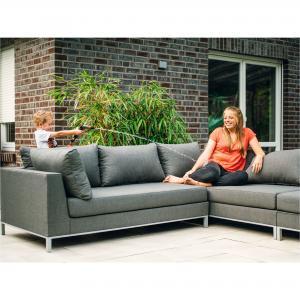 ROG garden-line NANOTEX TORINO LOUNGE LINKS - STONE GREY Bild 2