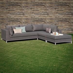 ROG garden-line NANOTEX TORINO LOUNGE LINKS - STONE GREY Bild 3