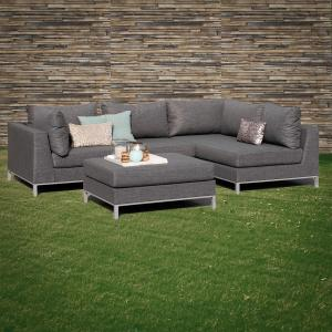 ROG garden-line NANOTEX TORINO LOUNGE LINKS - STONE GREY Bild 4