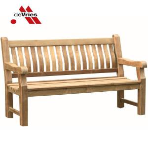 DEVRIES TEAK BANK MASSIV