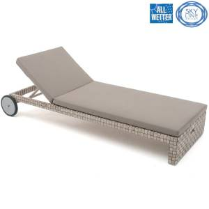 SKYLINE DESIGN® FLORENCE LIEGE SINGLE LOUNGER