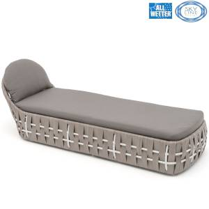 SKYLINE DESIGN® STRIPS LIEGE SINGLE LOUNGER