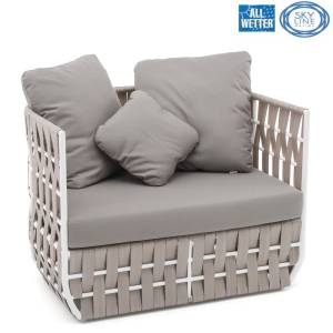 SKYLINE DESIGN® STRIPS ARMCHAIR SESSEL BANK