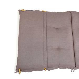 PL95: dralon® / Teflon™ PREMIUM AUFLAGE FÜR LIEGE 198 x 64 CM CAPPUCCINO Bild 3