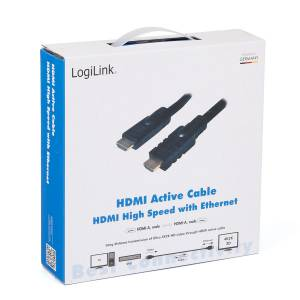 HDMI HIGH SPEED WITH ETHERNET - AKTIVES KABEL MIT VERSTÄRKER / REPEATER - 30m Bild 4