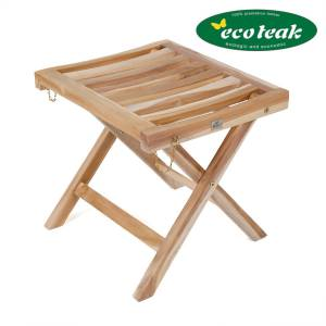 PLOSS ECO-TEAK® FUßHOCKER