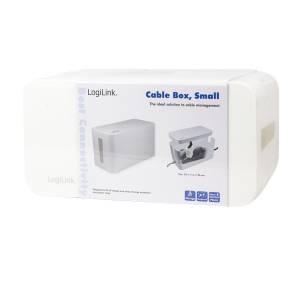 LOGILINK KABELBOX / KABELMANAGER 23,5 x 11,5 x 12,0 CM - WEISS Bild 6