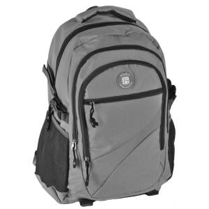 UNIVERSAL RUCKSACK 50x30x22 cm - PASO ORIGINAL COLLECTION - GRAU