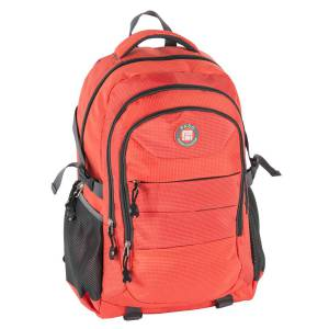 UNIVERSAL RUCKSACK 50x30x22 cm - PASO ORIGINAL COLLECTION - ORANGE