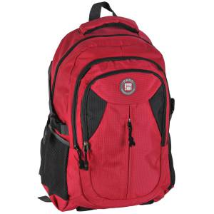 UNIVERSAL RUCKSACK 50x30x22 cm - PASO ORIGINAL COLLECTION - ROT