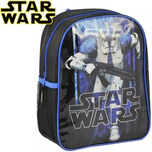 KINDER RUCKSACK 28x22x10 cm - STAR WARS COLLECTION - SCHWARZ