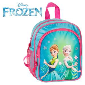 KINDER RUCKSACK 25x22x13 cm - DISNEY FROZEN COLLECTION - PINK / TÜRKIS