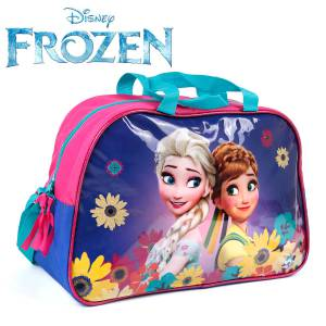 KINDER TASCHE 40x25x13 cm - DISNEY FROZEN COLLECTION - PINK / BLAU