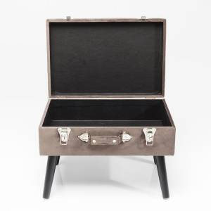 HOCKER SUITCASE SAMT GRAU - KARE DESIGN Bild 5