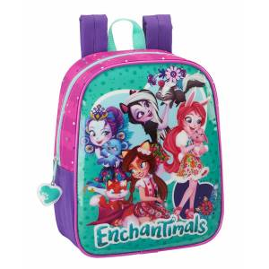 ENCHANTIMALS - MINI RUCKSACK 22 x 10 x 27 CM - LILA / PINK