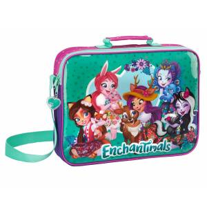 ENCHANTIMALS - SCHULMAPPE 38 x 6 x 28 CM - LILA / PINK