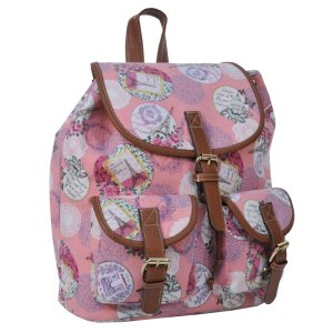 CANVAS RETRO CITY-RUCKSACK