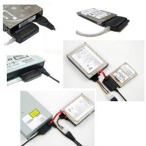 USB 2.0 AUF IDE UND SATA ADAPTER KABEL Bild 2