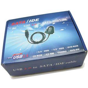 USB 2.0 AUF IDE UND SATA ADAPTER KABEL Bild 4