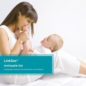 LinkDes ANTISEPTIK GEL 500 ML HANDDESINFEKTIONSMITTEL DESINFEKTIONSGEL IM SPENDER 62 % ETHANOL Bild 4
