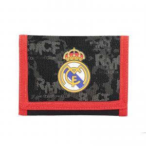 REAL MADRID CF - PORTEMONNAIE 12,2 x 9 x 1,5 CM - SCHWARZ / ROT Bild 2