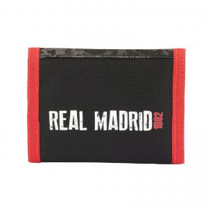 REAL MADRID CF - PORTEMONNAIE 12,2 x 9 x 1,5 CM - SCHWARZ / ROT Bild 3