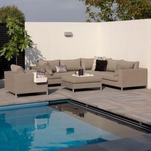 ROG garden-line NANOTEX TORINO LOUNGE SESSEL - TAUPE Bild 4