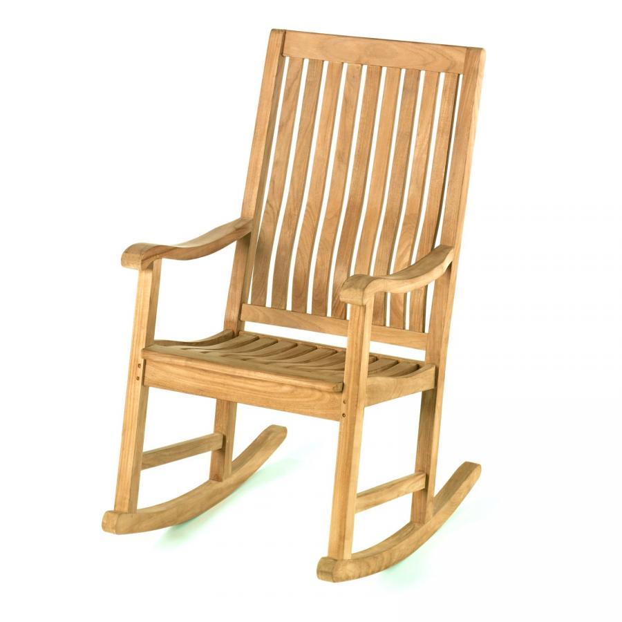 teak schaukelstuhl schaukel stuhl gartenstuhl teakholz. Black Bedroom Furniture Sets. Home Design Ideas