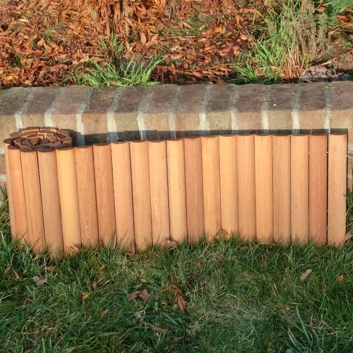 bangkirai rollboarder hartholz beetumrandung rasenkante 180x30 cm. Black Bedroom Furniture Sets. Home Design Ideas
