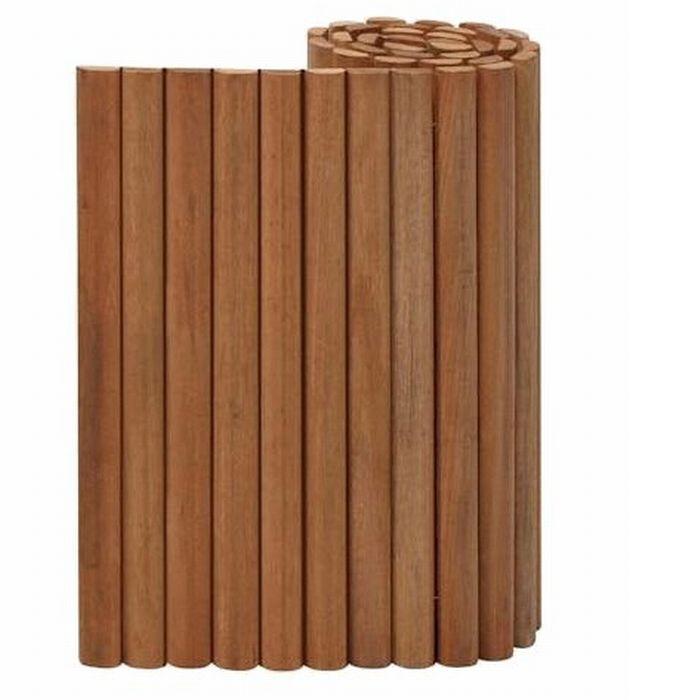 Holz Palisade Bangkirai Rollboard ~ HOLZ PALISADE BANGKIRAI ROLLBOARD EINFASSUNG BEETUMRANDUNG RASENKANTE