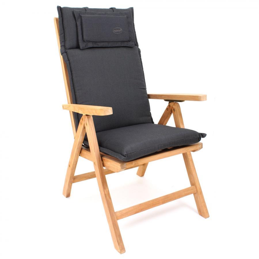 gartenauflage auflage f r hochlehner garten stuhl 119 x 46 cm stuhlkissen dick ebay. Black Bedroom Furniture Sets. Home Design Ideas