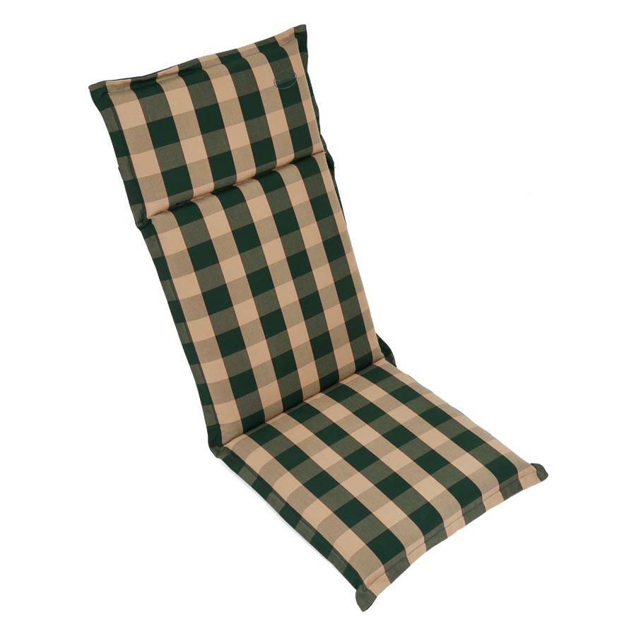 stuhl hochlehner auflage polsterauflage sitzpolster gr n. Black Bedroom Furniture Sets. Home Design Ideas