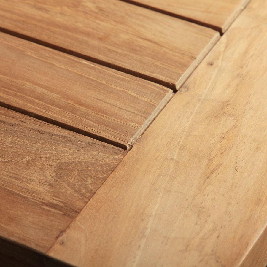 Roggemann Tl8118 Teak Holz Tisch Harvard Massiv Fest 90x90